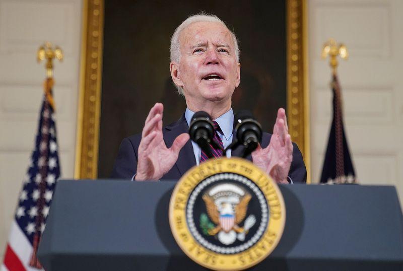 Biden to urge vigilance and offer hope on anniversary of lockdown