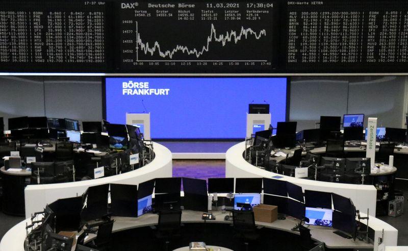 European shares retreat as rising bond yields weigh