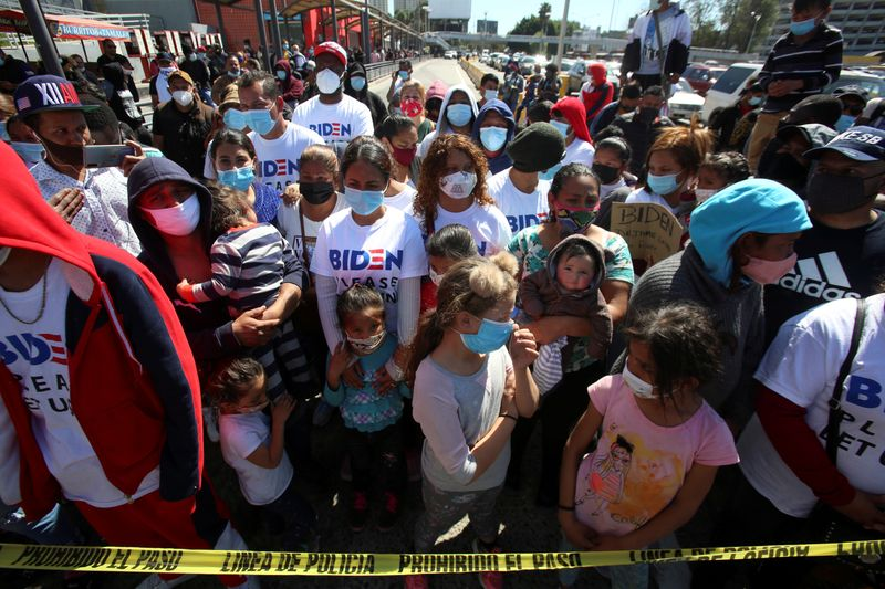 As Biden winds down Mexico program, many migrants on U.S. border left in limbo