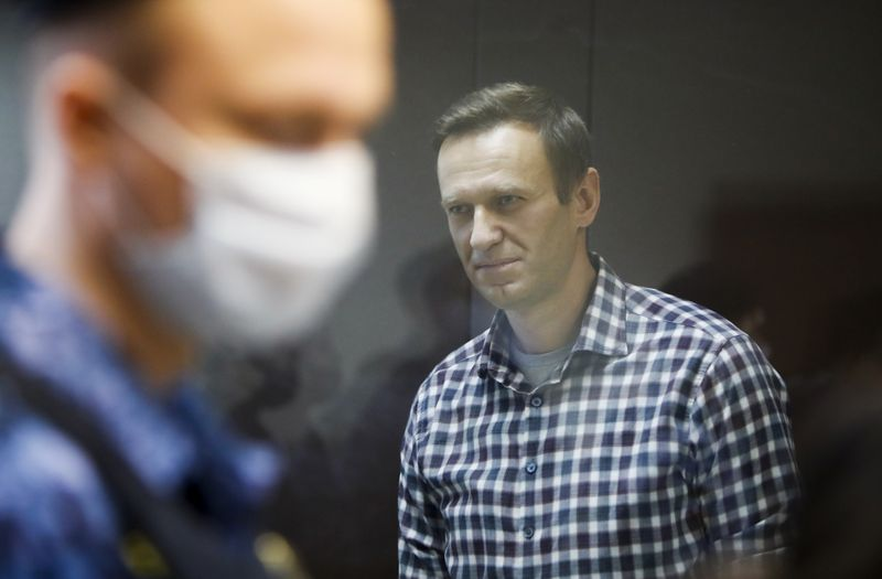 Kremlin critic Navalny moved from jail, whereabouts unknown - Navalny's Twitter cites lawyers