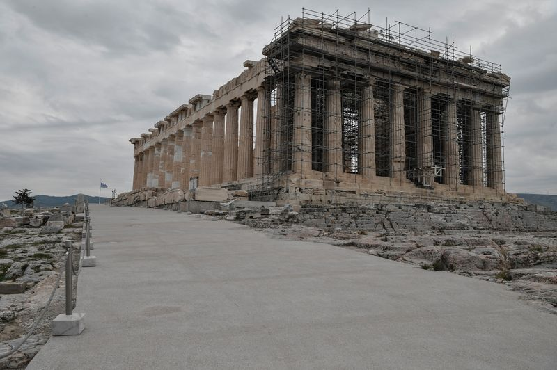 Britain is legitimate owner of Parthenon marbles, UK's Johnson tells Greece