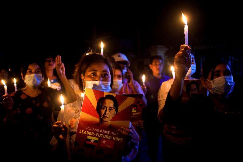 Seis aliados muertos en protestas en Myanmar mientras los aliados de Estados Unidos prometen restaurar la democracia