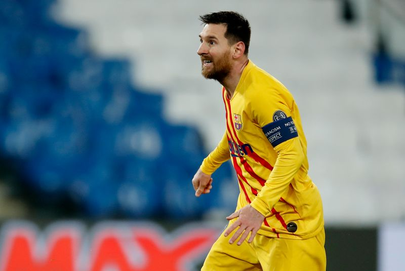 Messi set to equal Barcelona's appearance record