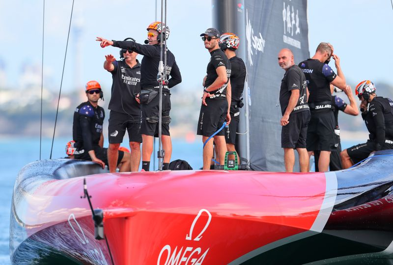 Sailing: Team New Zealand savour America's Cup triumph in home waters