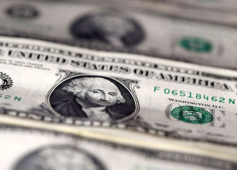Dollar defensive as Treasury yields slip from near 14-month highs