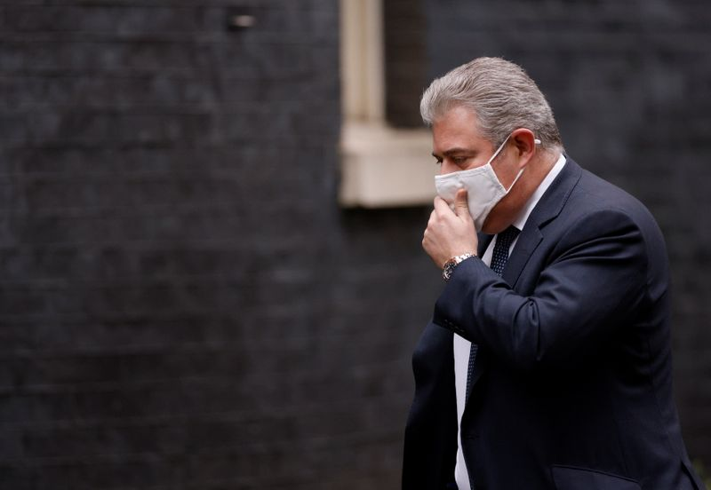 Britain says unionist anger over Brexit deal could put Northern Ireland 'in quite a dangerous place'