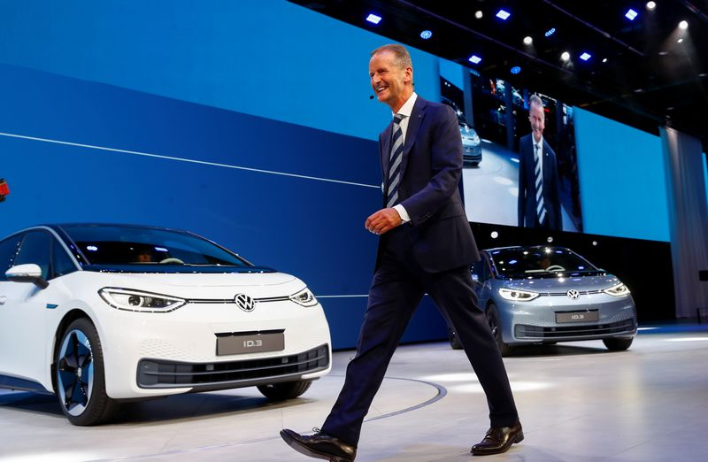 Analysis: Electric shock - German auto stocks get a new lease of life