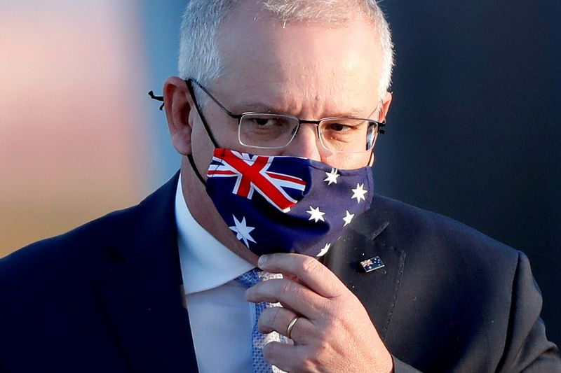 Australian PM admits public anger after report of lewd acts in parliament