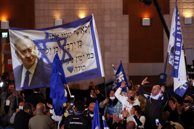 Netanyahu's future unclear as exit polls forecast stalemate in Israel's election