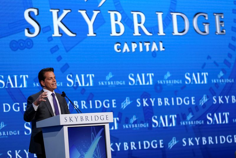 Bitcoin can prosper without becoming a major currency: SkyBridge's Scaramucci