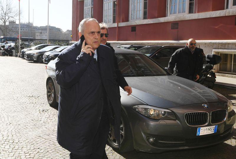 Lazio multata, 7 mesi inibizione a Lotito per violazione protocolli Covid