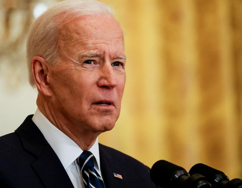 White House says Biden is concerned about new Georgia election law