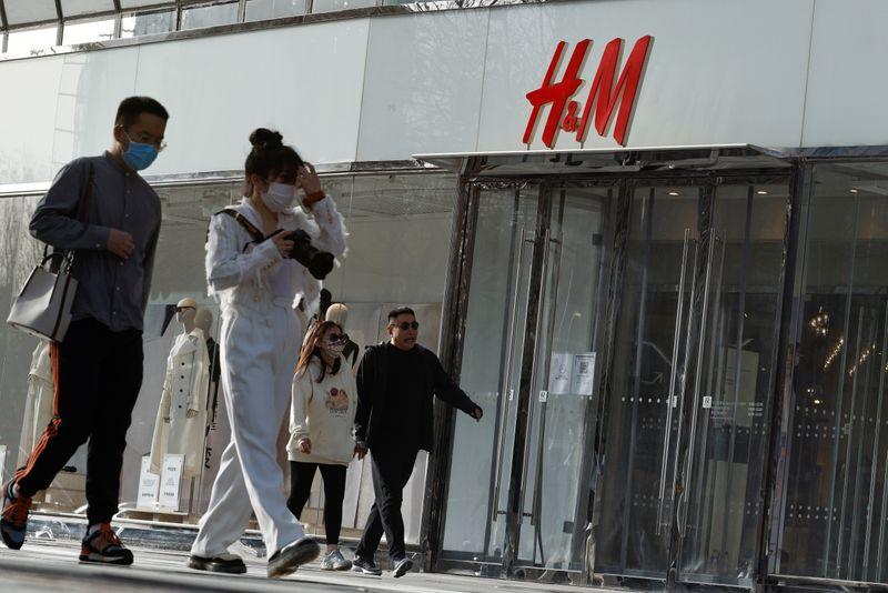 Xinjiang: La Chine somme H&M et d'autres de ne pas se mêler de politique