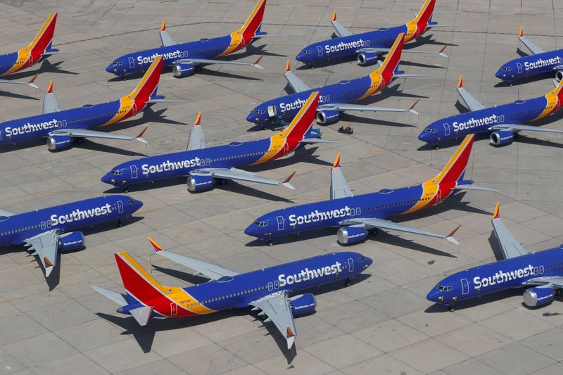 Southwest Airlines adds order for 100 Boeing 737 MAX jet