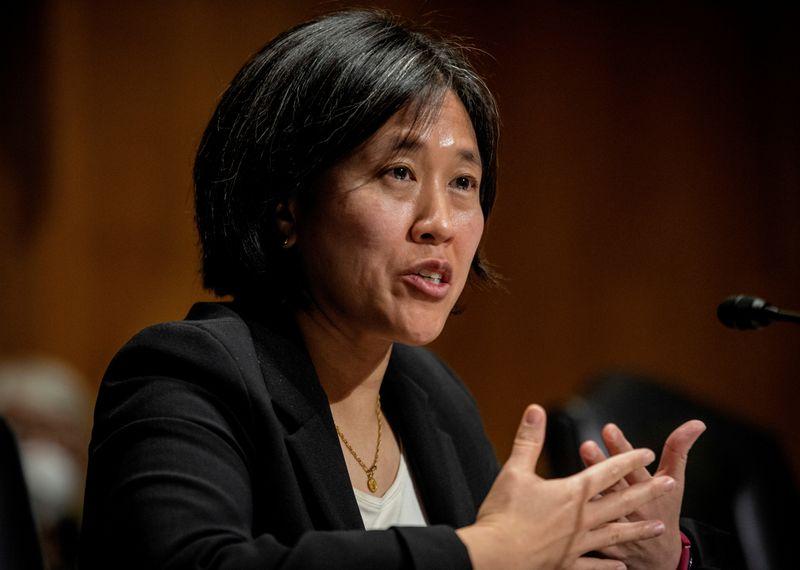 <p>USTR's Tai tells European officials she Needs'more positive' trade ties thumbnail