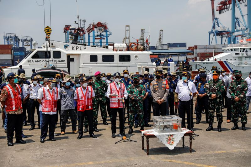 Indonesia recovers cockpit voice recorder of crashed Sriwijaya Air jet