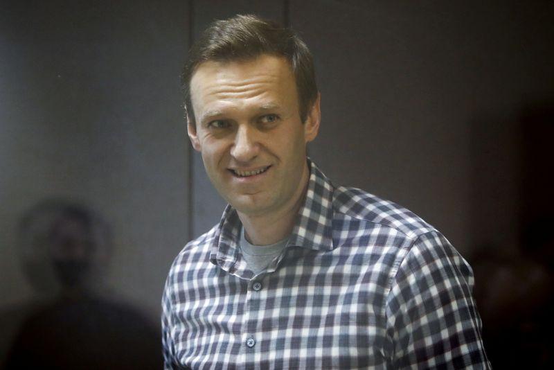 Jailed Kremlin critic Navalny launches hunger strike in bid for medical care