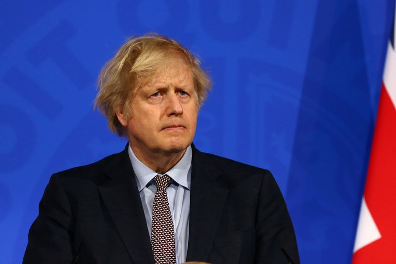 PM Johnson says France's COVID situation is sad and could spread to UK