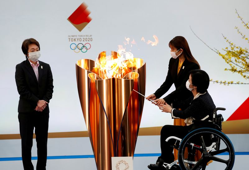 Japan's Osaka weighs cancelling leg of Olympic torch relay over virus surge