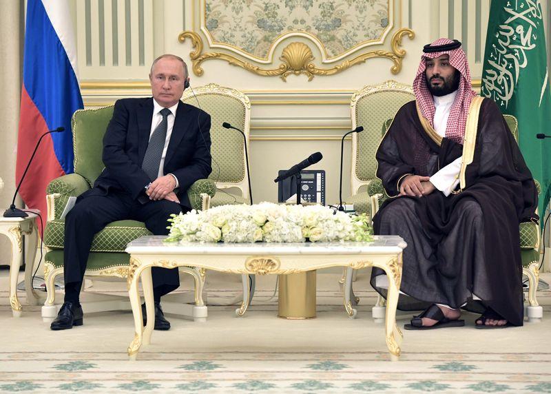 الكرملين: بوتين أجري مباحثات مع ولي العهد السعودي بشأن أوبك هذا الأسبوع