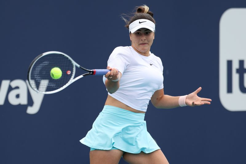 Tennis-Andreescu refuses to let injuries define her career