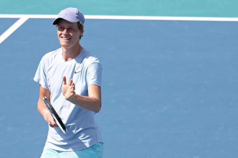 Tennis: Teenage Miami finalist Sinner blends tranquillity, talent to keep rising