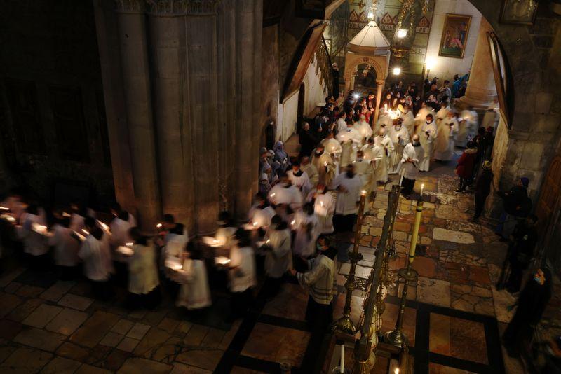 Seek post-COVID renewal, Holy Land archbishop urges on Easter Sunday