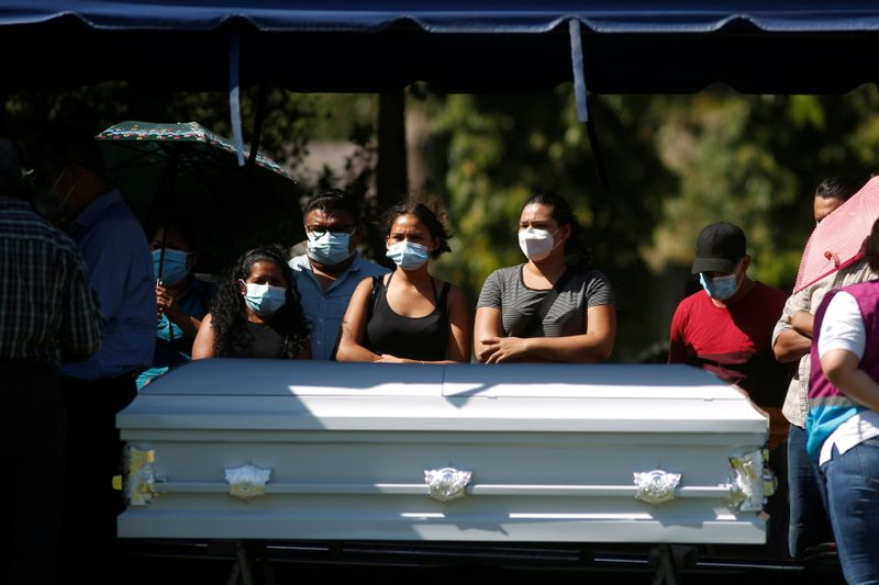 'We want justice!' Salvadoran woman killed in Mexican police custody is buried