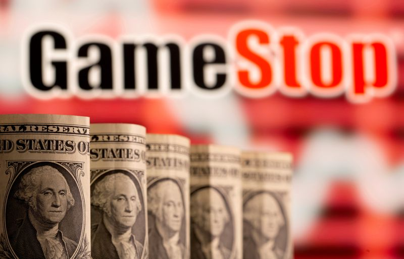 GameStop shares fall after announcing share sale plan