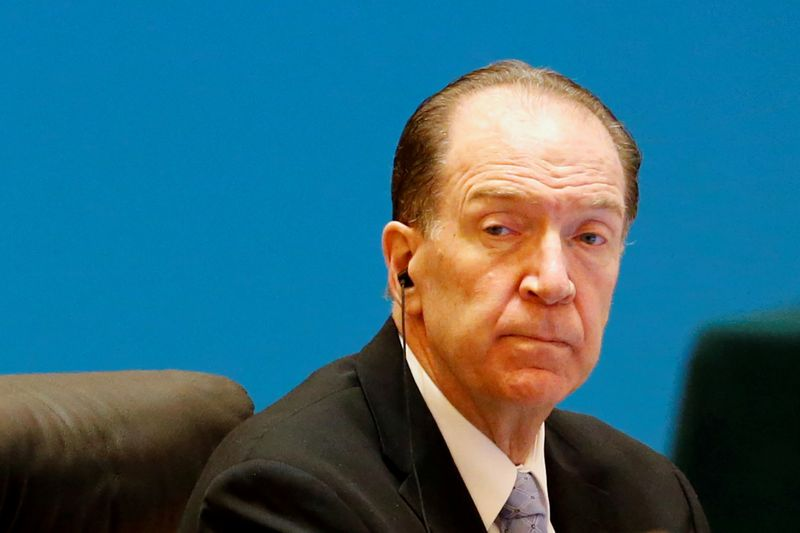 World Bank chief expects G20 to extend debt payment freeze through end-2021