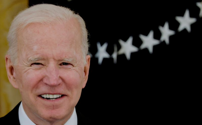 Biden says no evidence higher corporate taxes will drive companies abroad