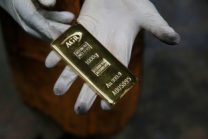 Рост цен на золото ограничен усиливающимся аппетитом к риску