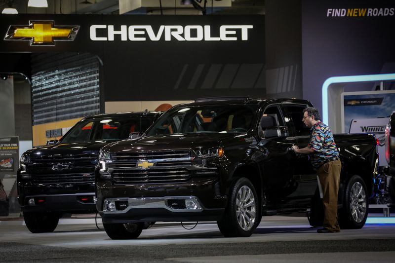 GM to start making Silverado electric pickups late next year in Detroit: source