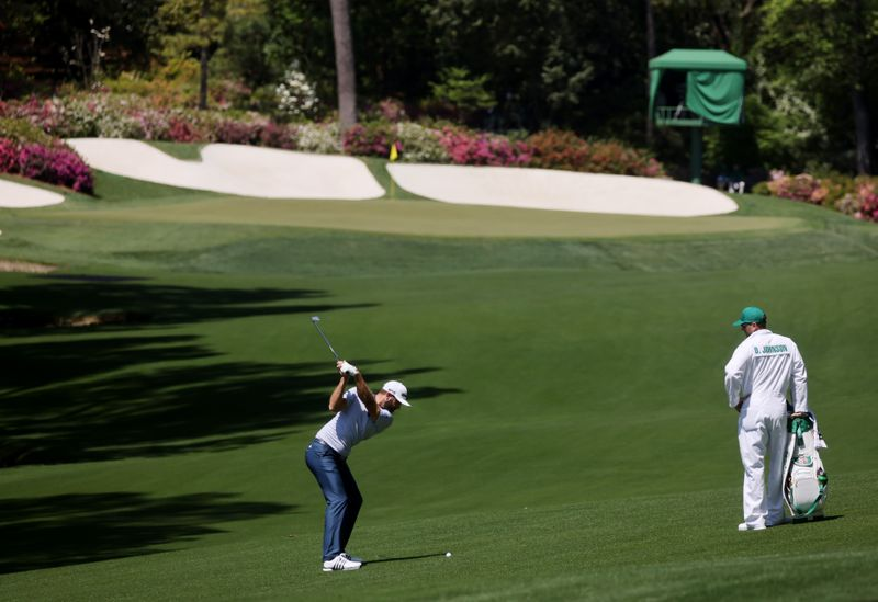 Johnson grouped with Westwood and Strafaci for Masters title defense