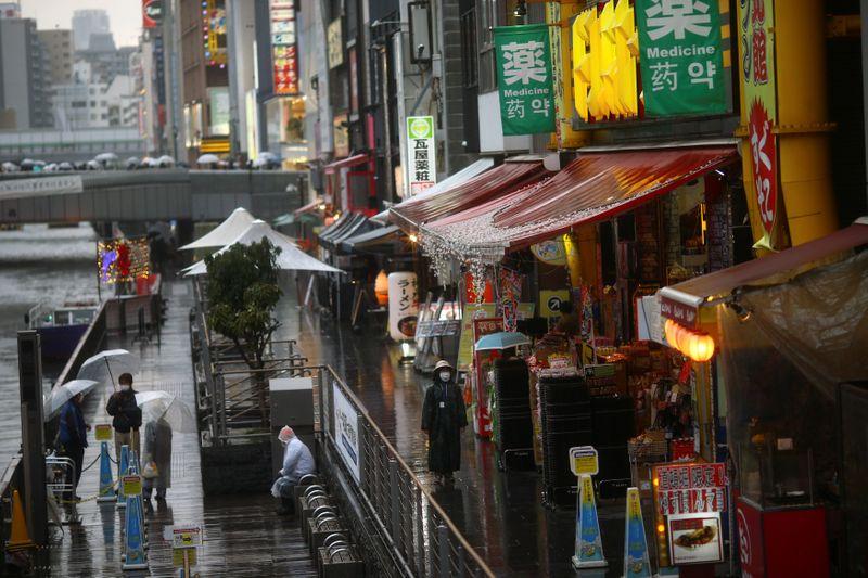 Japan's Osaka cancels Olympic torch run, declares COVID-19 medical emergency