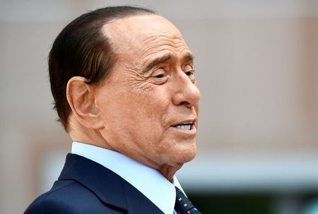 Former Italian PM Berlusconi in hospital since Tuesday: sources
