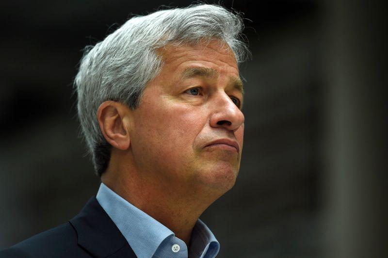 JPMorgan CEO Dimon sees U.S. economic boom through 2023