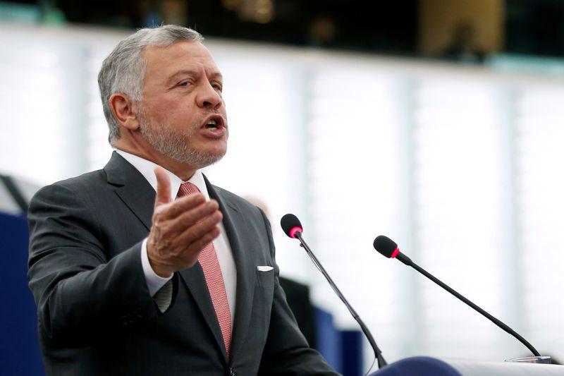 Jordan's King Abdullah says sedition quashed, country stable