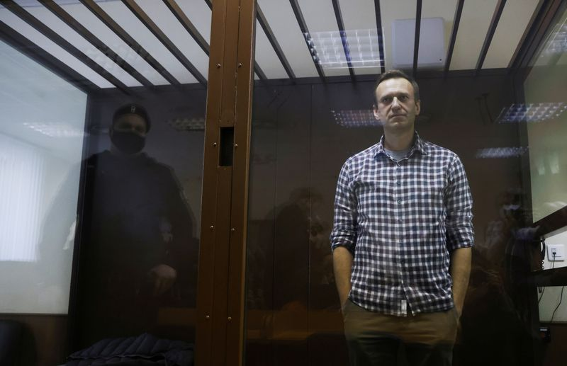White House 'disturbed' by Kremlin critic Navalny's reported worsening health