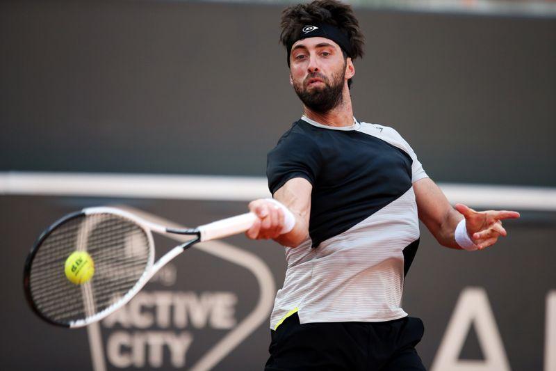 ATP roundup: Nikoloz Basilashvili thwarts five match points in Cagliari