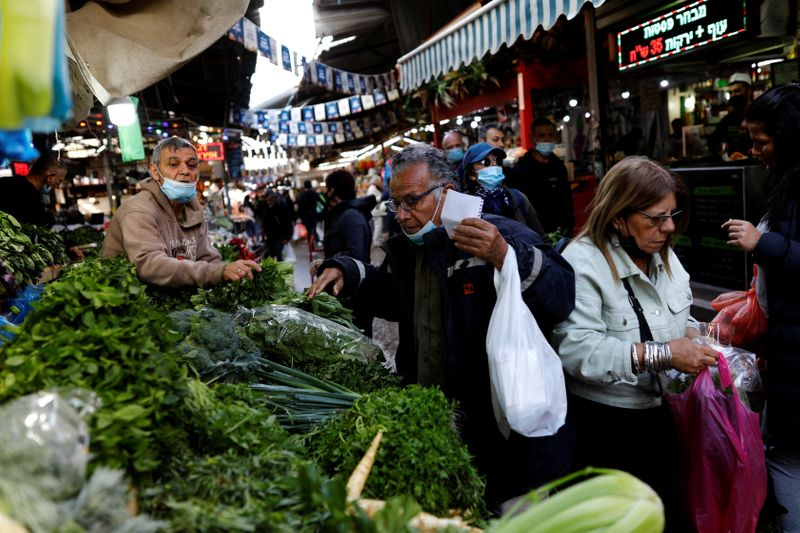 World food price index rises in March for tenth month running - FAO