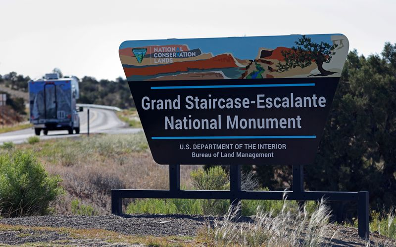 U.S. interior secretary looks to restore Utah monuments slashed by Trump