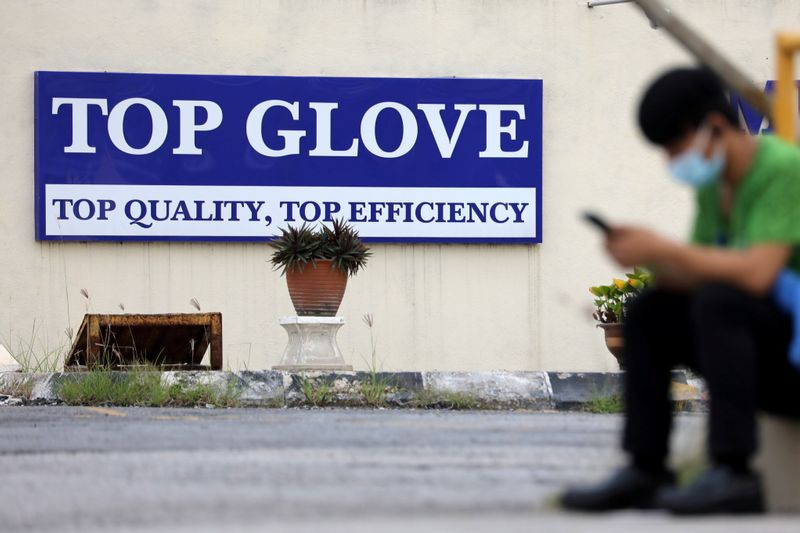 Malaysia's Top Glove says production hurt by U.S. ban