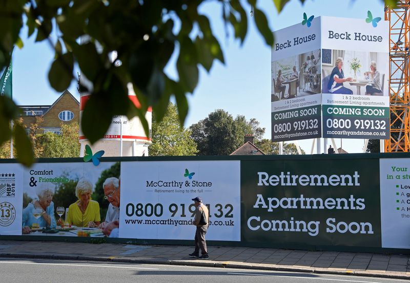 McCarthy Stone gets 200 million pound financing to boost retirement home supply