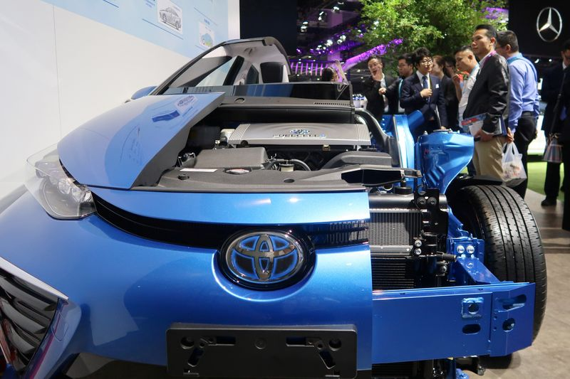 China's capital envisages 10,000 fuel cell vehicles by 2025