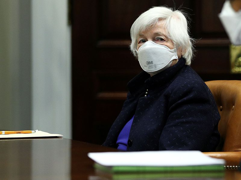 Yellen tells world's big economies: spend big, danger lurks