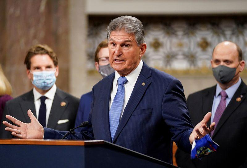 West Virginia's Manchin, flexing political muscle, leaves U.S. Senate Democrats in lurch