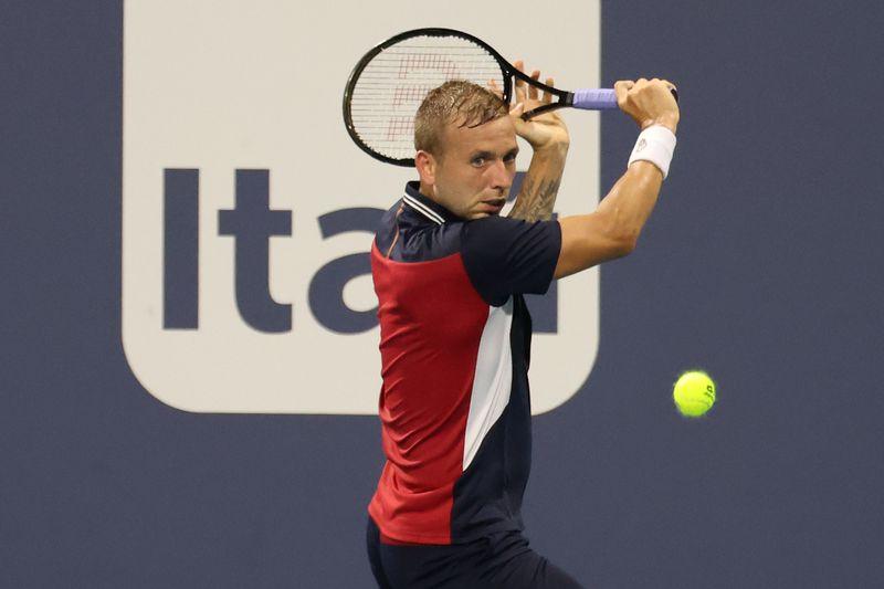 ATP roundup: Top seed Daniel Evans falls in Sardegna Open