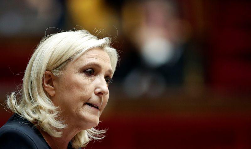 France: Marine Le Pen annonce sa candidature à la présidentielle de 2022