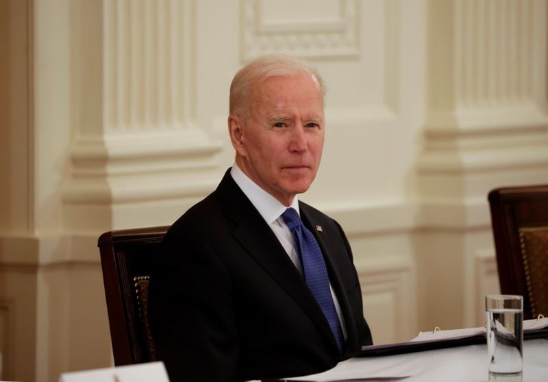 Biden to meet with U.S. lawmakers Monday on infrastructure plan thumbnail